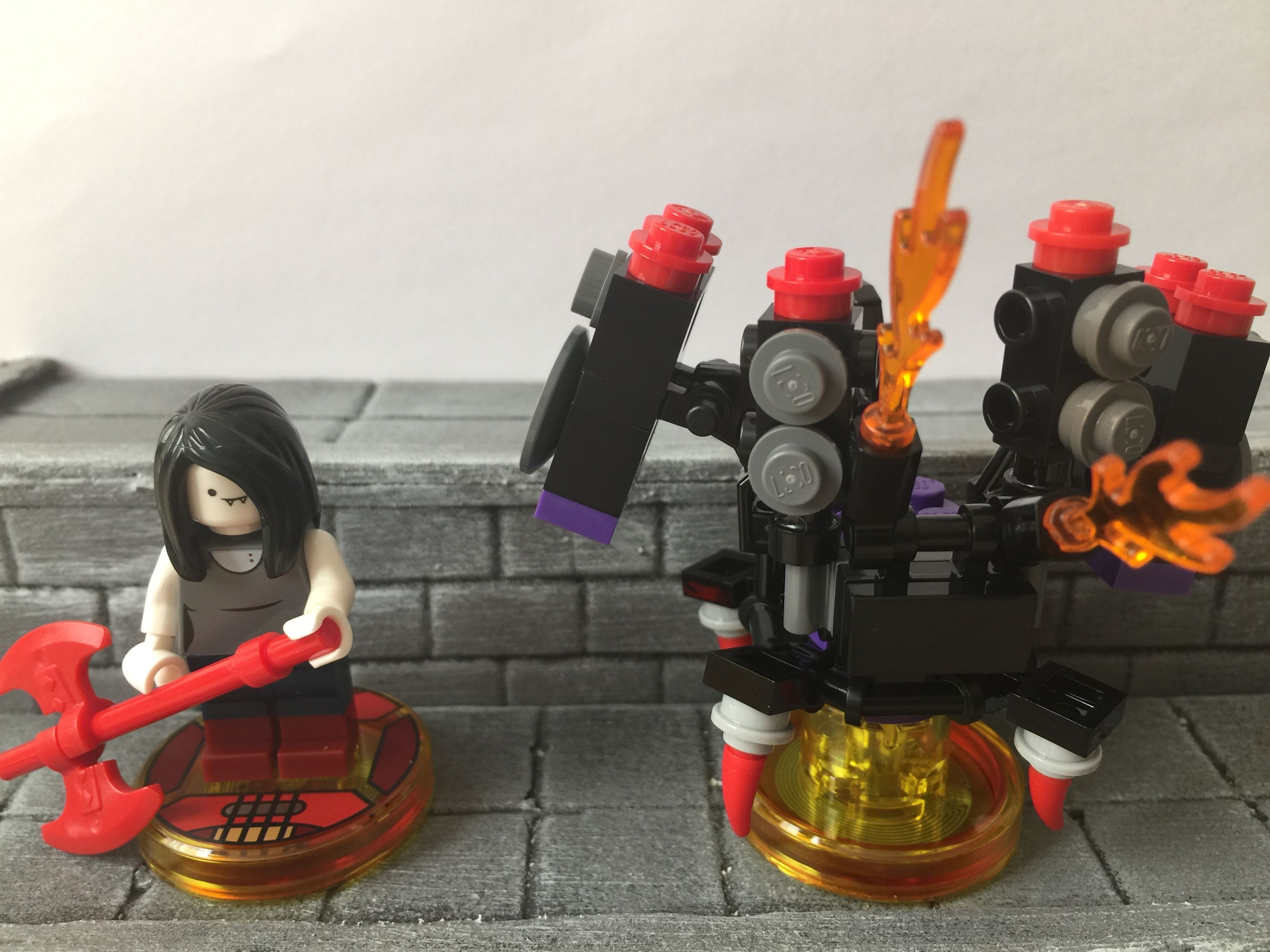 Cabikuras lego dimension collection 71285 Marceline the Vampire     Cabikuras lego dimension collection 71285 Marceline the Vampire Queen fun  Pack