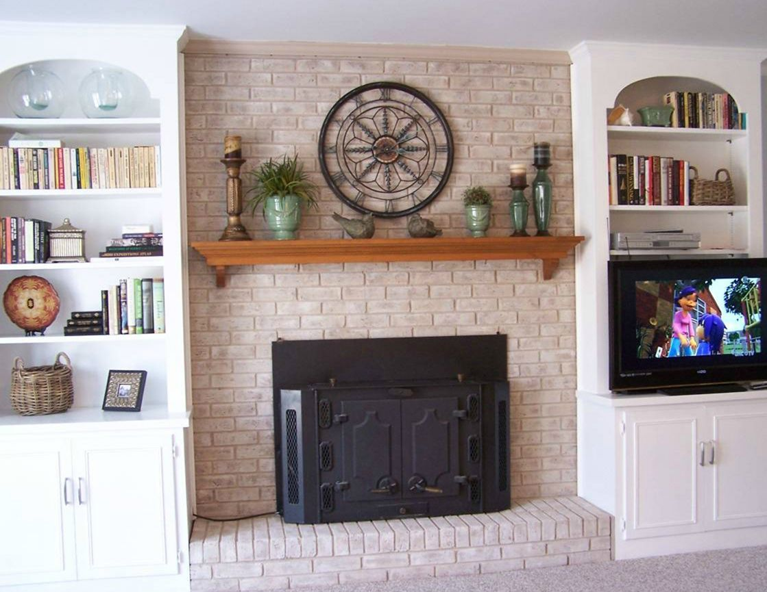 Phenomenon 35  Incredible Brick Fireplace Decorating Ideas For Home     Phenomenon 35  Incredible Brick Fireplace Decorating Ideas For Home And  Apartment https