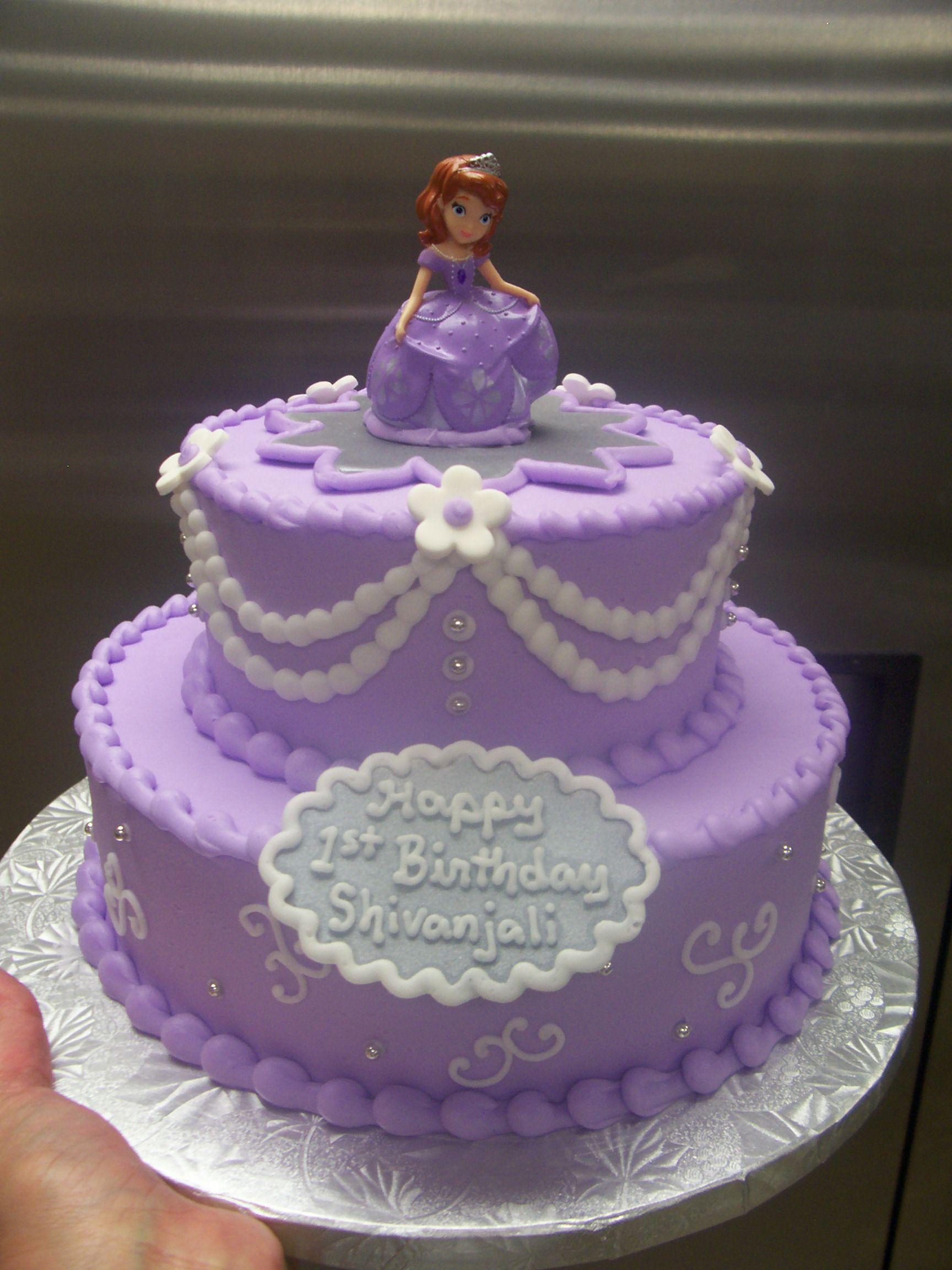 Princess Sofia Cake Disney Themed Cakes Pinterest