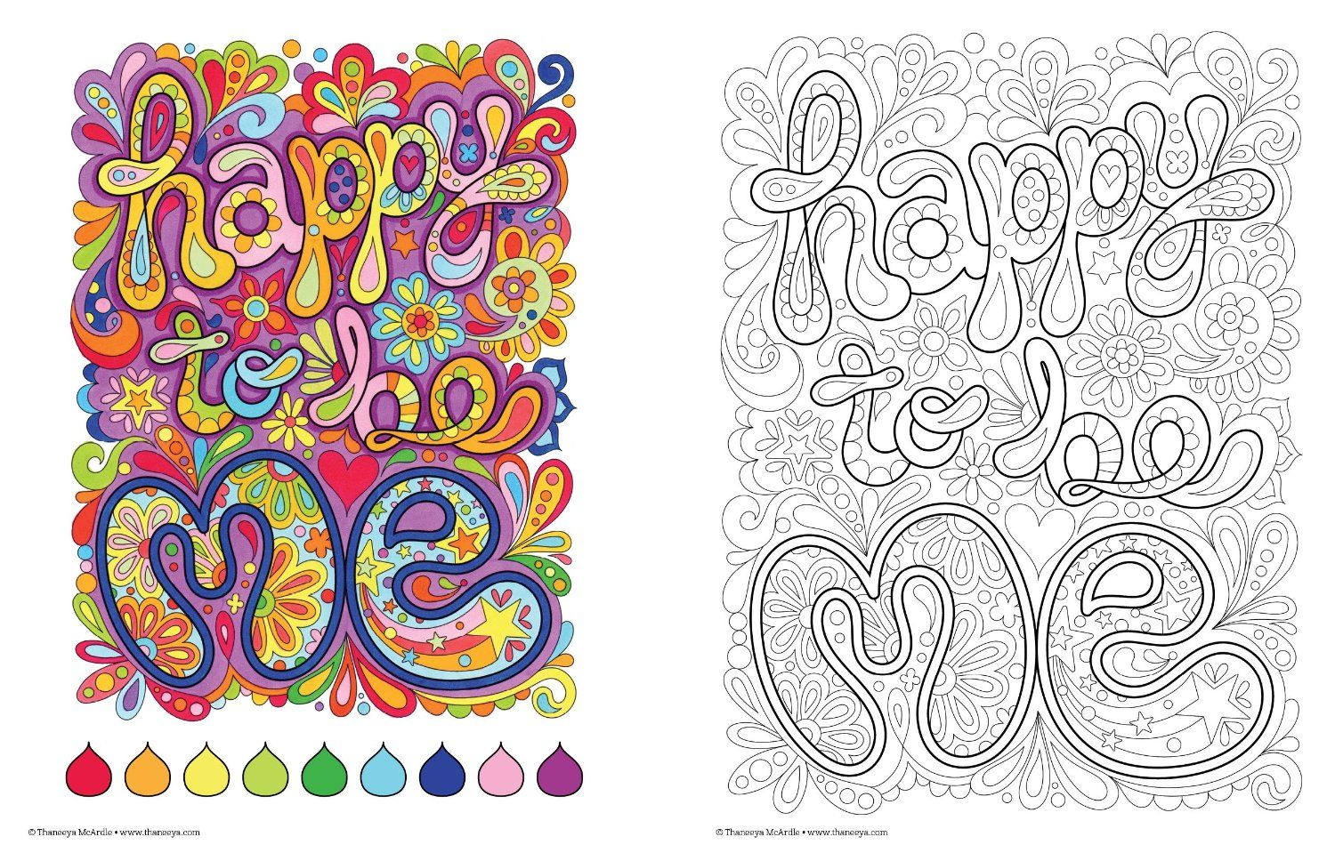 Amazon Good Vibes Coloring Book Coloring Is Fun