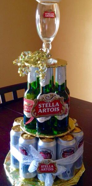 Stella Artois Cake Father S Day Ideas Pinterest