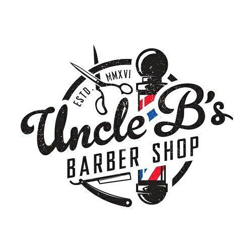 Logo concept for Uncle B's Barber Shop. | Logo design ...
