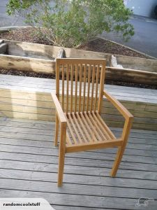 Teak Outdoor Chair   Trade Me Teak outdoor chair  69 used as     Teak Outdoor Chair   Trade Me Teak outdoor chair  69 used as interior  dining chairs