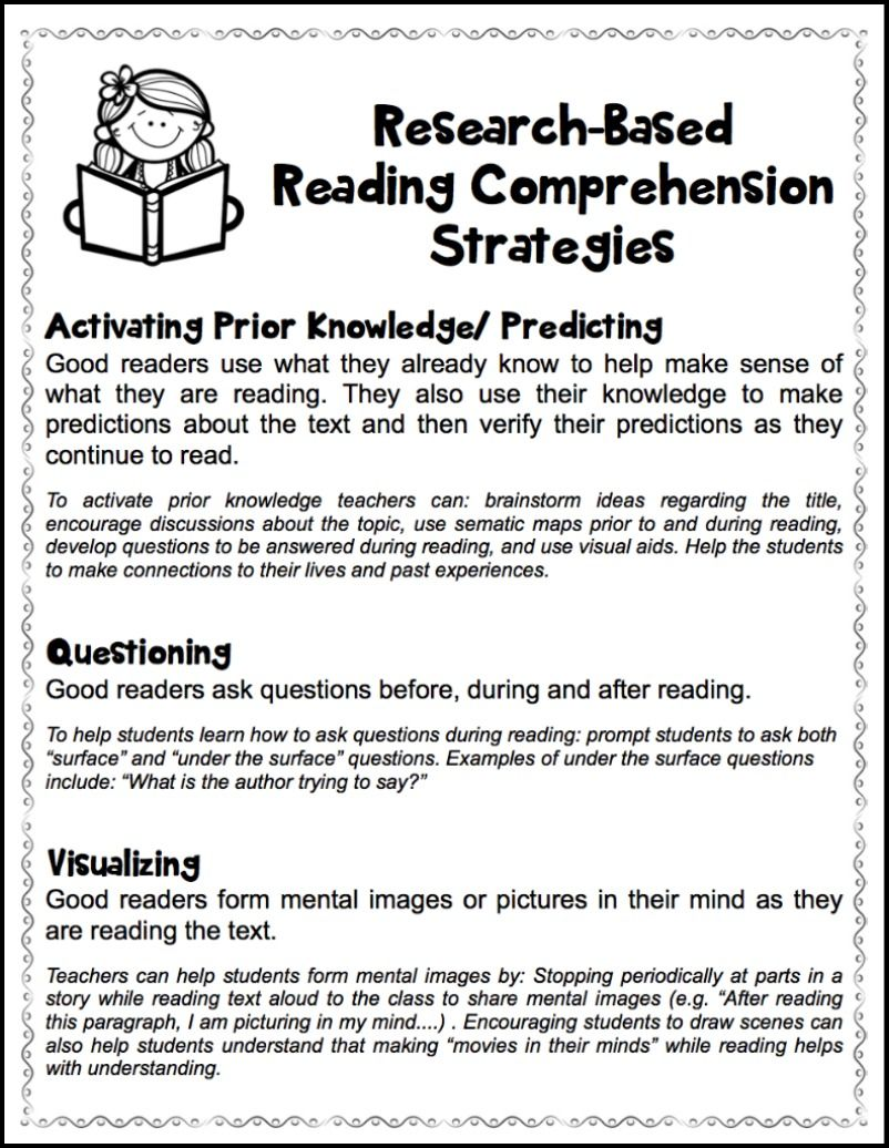 worksheet Reading Worksheets For Highschool Students reading comprehension worksheets for high school free 6 rese rch b sed re d g prehensi str tegies h ndout