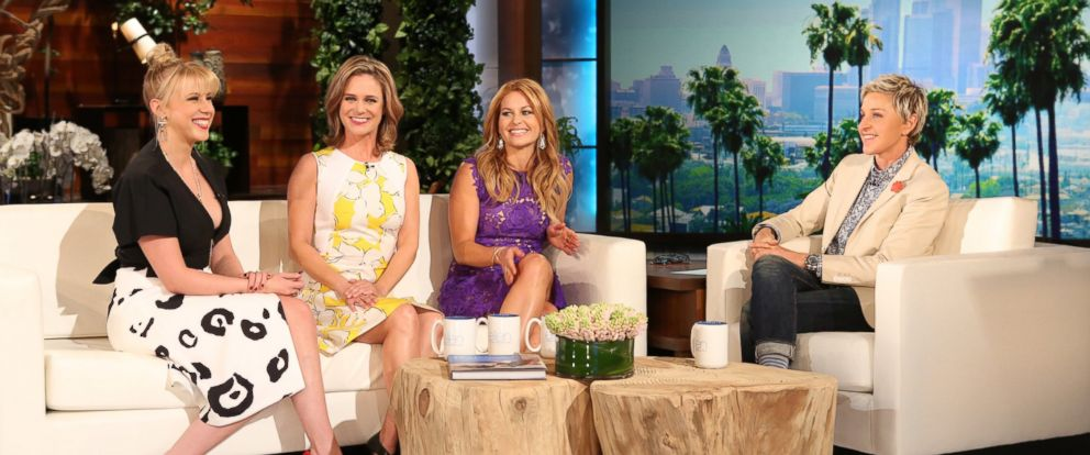 Fuller House  Cast Reveals First Official Trailer on  Ellen    ABC News PHOTO  The cast of  Fuller House   appear on  The Ellen DeGeneres