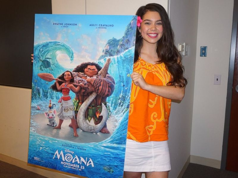 14 Things to Know About Disney s  Moana  Before You See It   ABC News Auli i Cravalho will be the voice of Moana