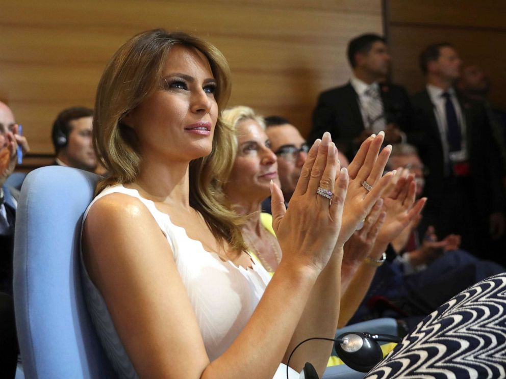 After Trump claims Melania Trump has 'gotten to know' Kim ...