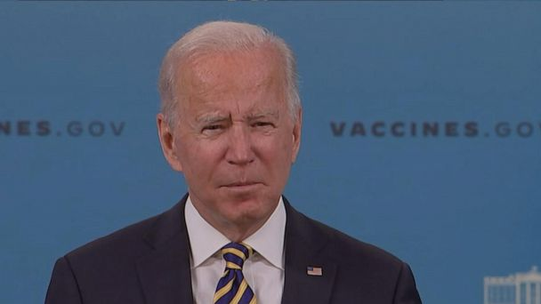 Watch Video Biden supplies replace on COVID-19 response, vaccination effort – ABC U.S.  News