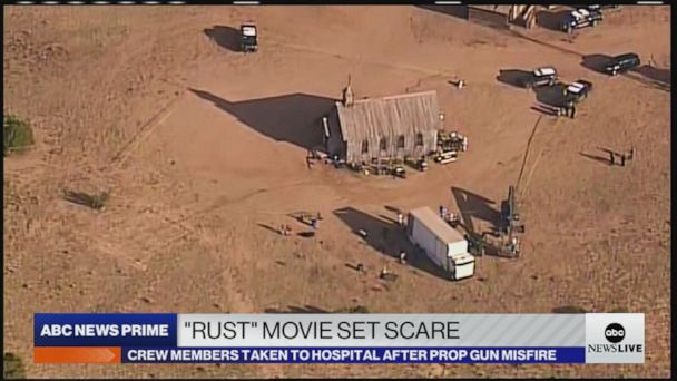 Watch Video Crew member dies after prop gun misfires on Alec Baldwin movie set – ABC U.S.  News