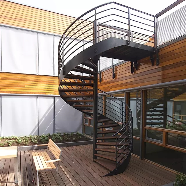Outdoor Steel Beam Metal Spiral Staircase For Sale Buy Metal   Metal Staircase For Sale   Prefab   Outdoor   Contemporary   Tangga   Steel Structure