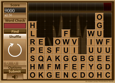 Game of the Day  Word Drop 2   AOL News The Game of the Day wants you to get your spelling cap on and play for high  scores  Word Drop 2 is here  Click the tiles to create words and go for