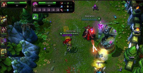 Hands on  League of Legends for the Mac