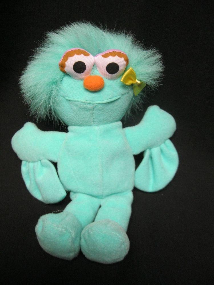 Sesame Street Stuffed Plush ROSITA Monster Doll Vintage ...