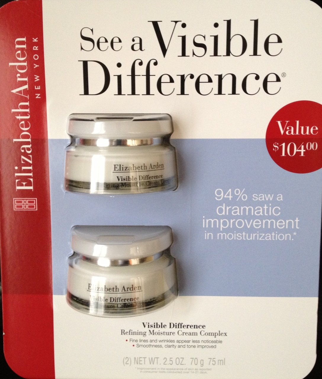 Value! Elizabeth Arden Visible Difference Refining ...