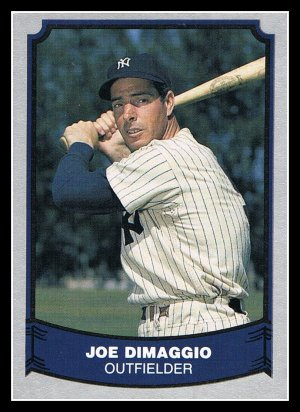 1988 Joe Dimaggio 100 Pacific Baseball Legends Trading Card