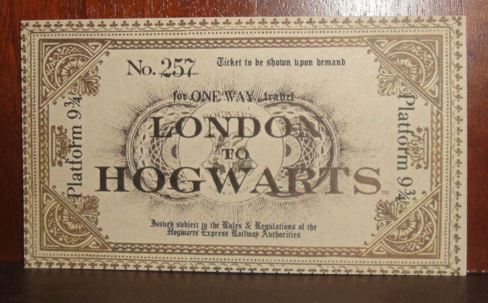 hogwarts express ticket - 1000×622