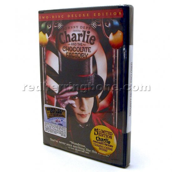 Dvd Factory Chocolate Charlie Deluxe And