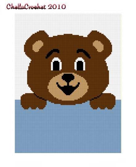 Afghan Pattern Care Bear