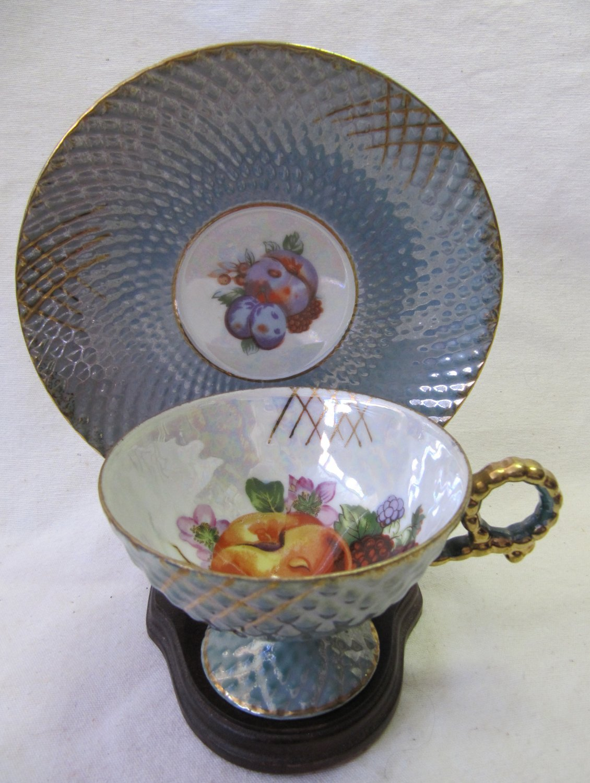 Miniature Teacup And Saucer Made Japan Trademarks