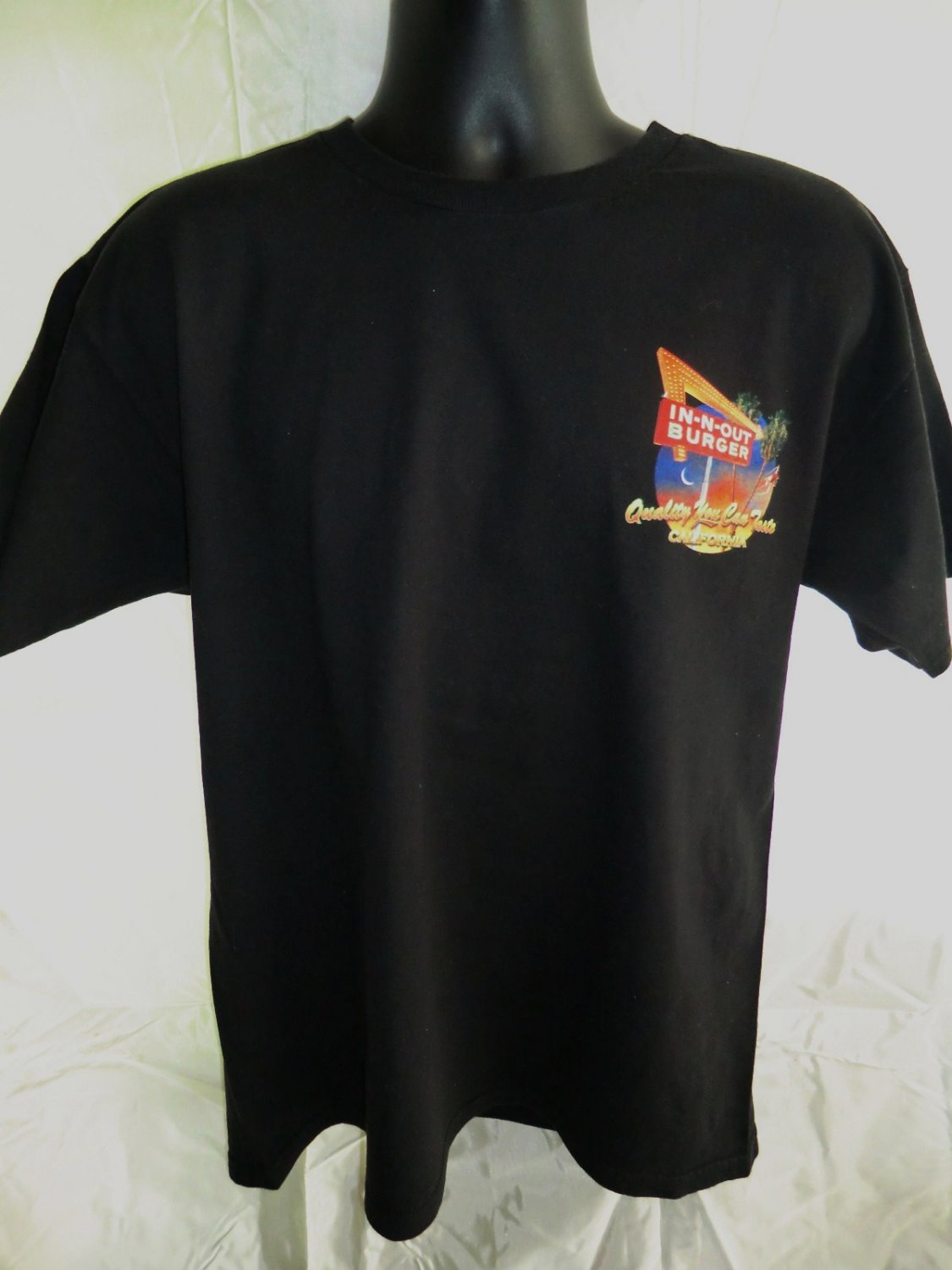 Sold In N Out Burger Black Large T Shirt Cool Cars