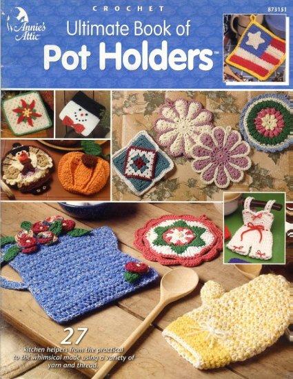 Crochet Oven Mitt Pattern
