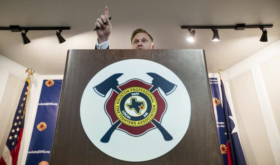 Houston's hard-charging fire union president has become ...