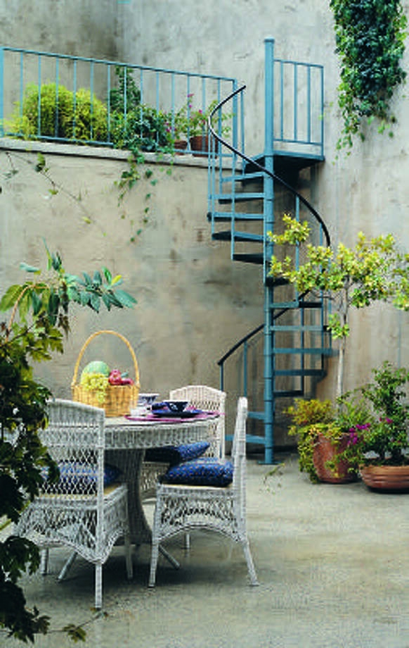 Hidden Gardens Can Lift The Spirit Houston Chronicle | The Iron Shop Stairs | Elk Grove | Staircase Kits | Spiral Stair Case | Stair Railing | Broomall Pennsylvania
