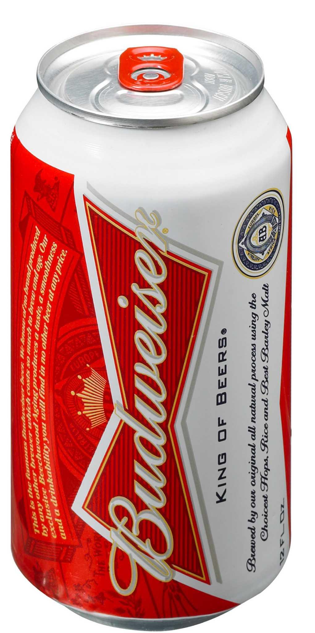 budweiser beer calories - 458×920