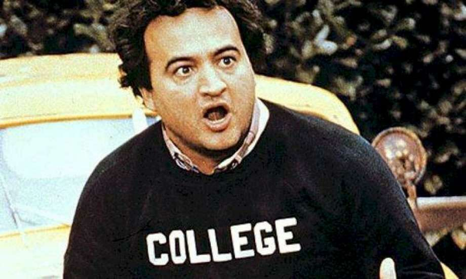 Paul Janensch     Animal House    image still haunts Fox   Connecticut Post John Belushi  well known as  Bluto  in  National Lampoon s Animal House