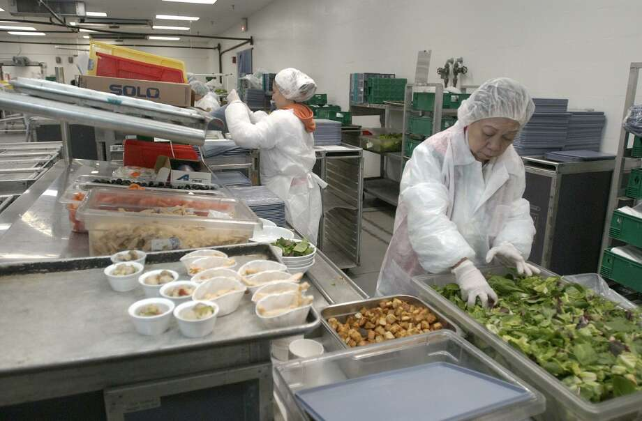 Catering Employees Working