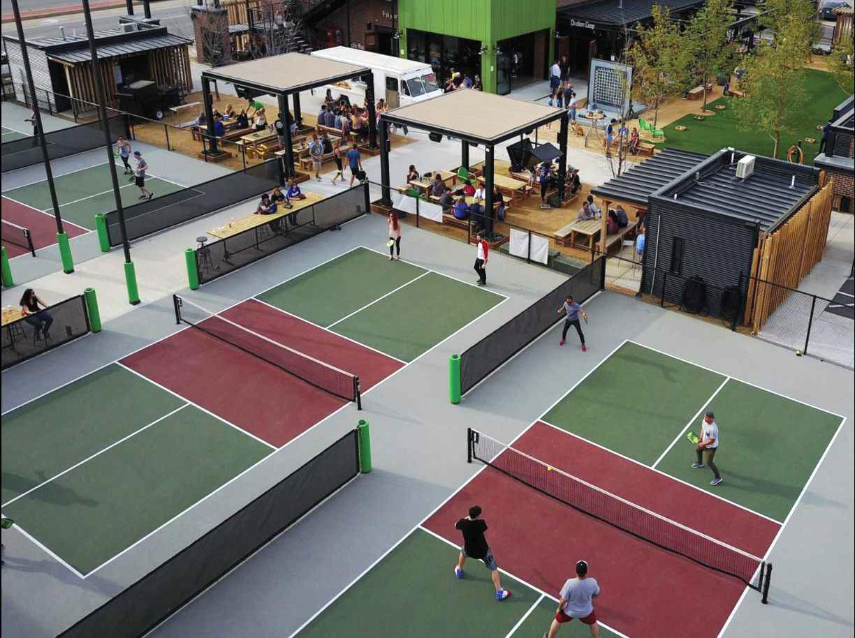 Chicken Beer And Pickleball Bar Coming To San Antonio S