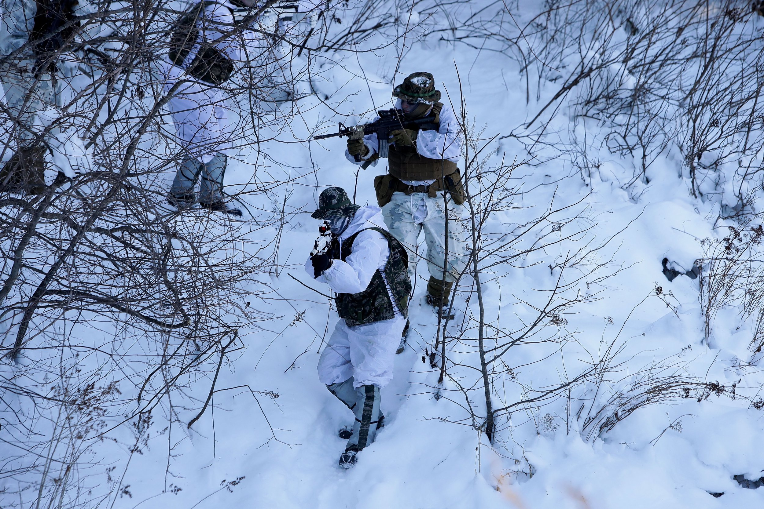 North Korea S Military Prepares For Winter Drills As Three