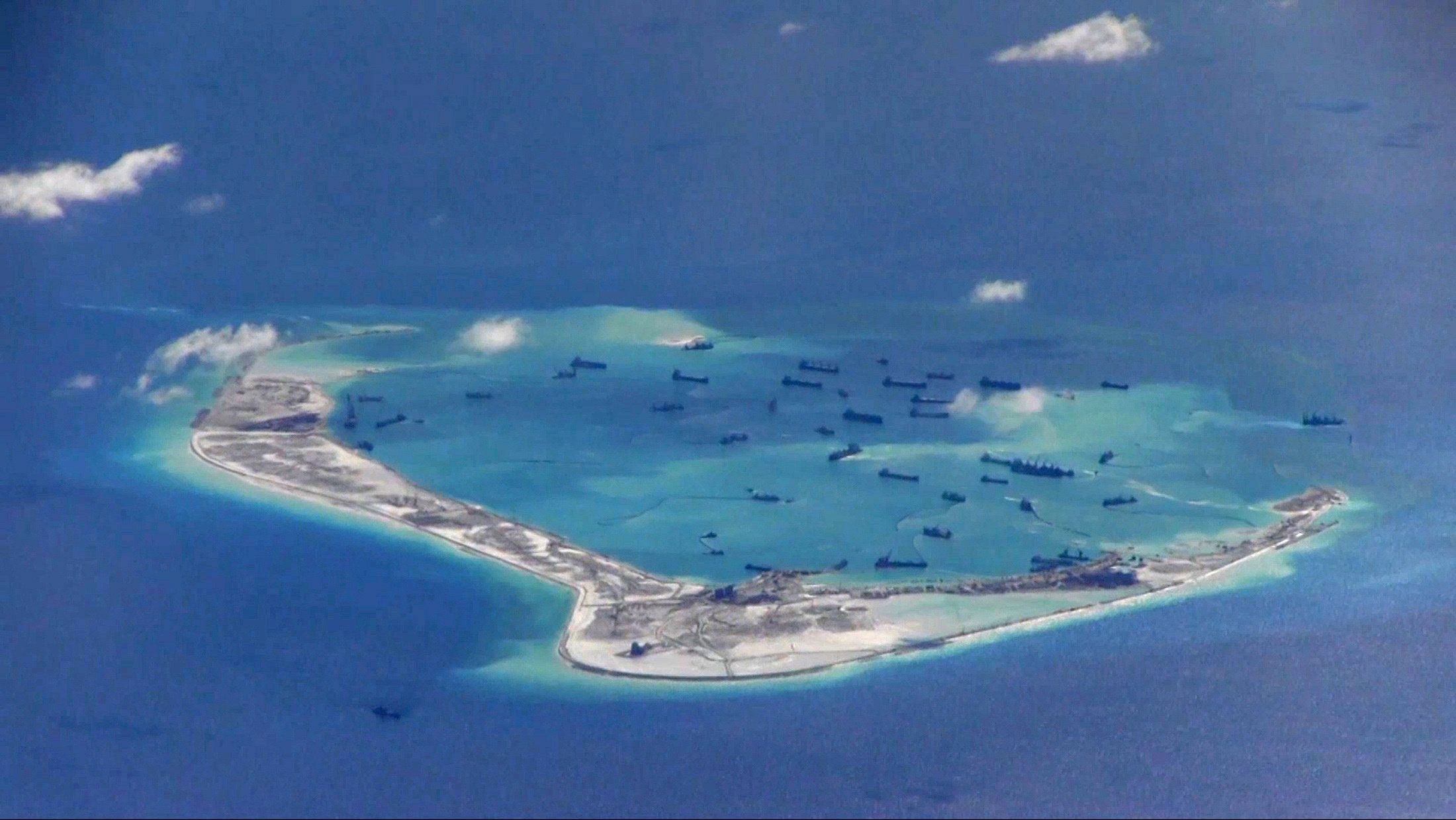 China Artificial Island United