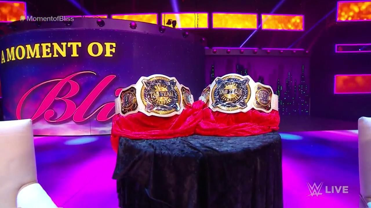 WWE Women's Tag Team Championships Revealed on Monday ...
