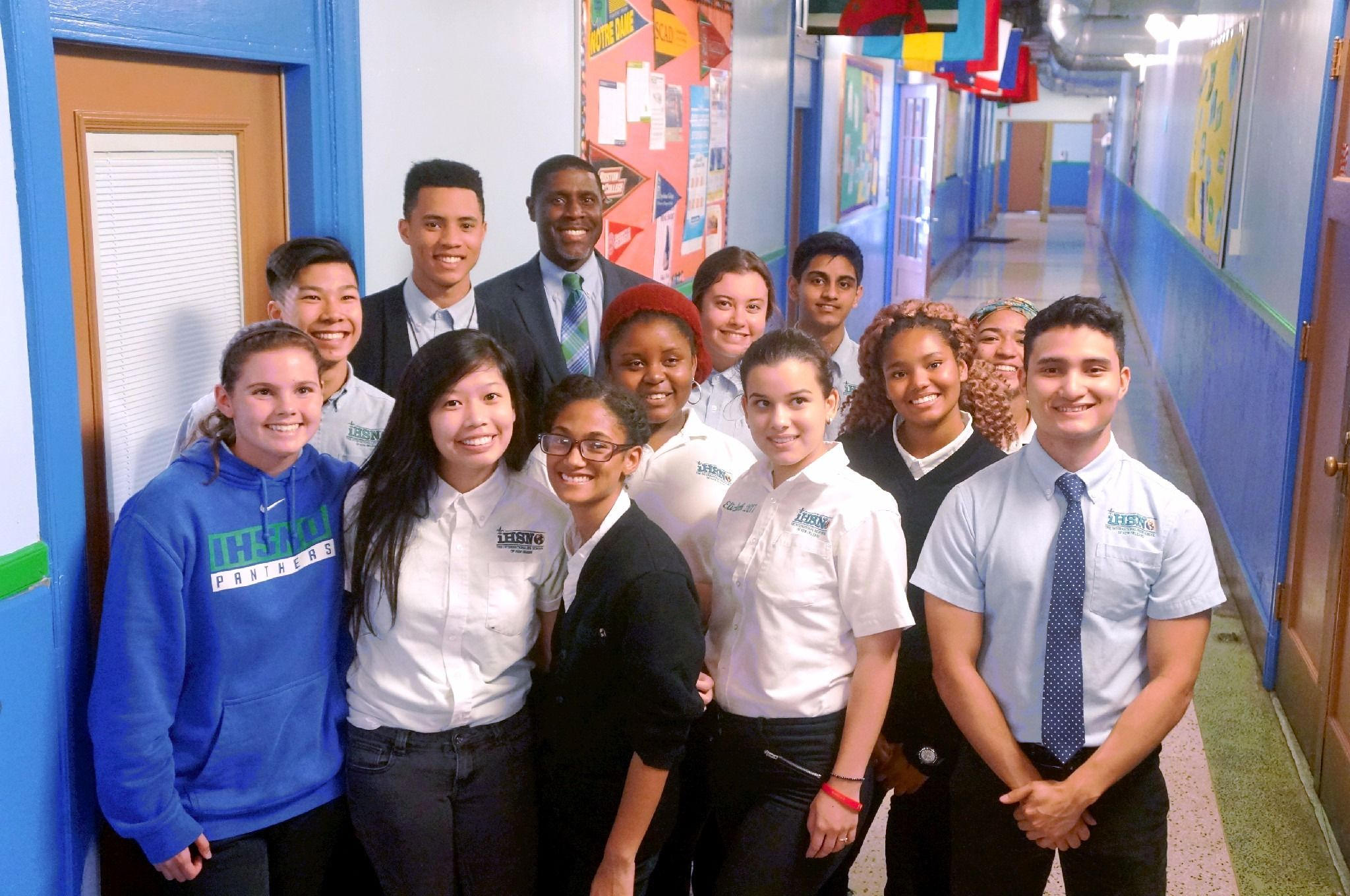 Diverse Students Secondary School