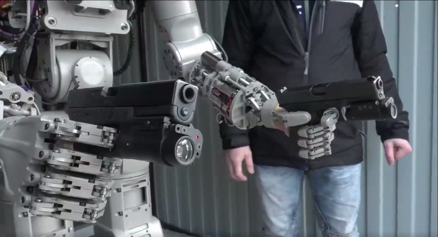 Russia Built A Robot That Can Shoot Guns And Travel To Space