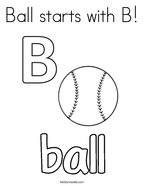 letter b coloring page # 17