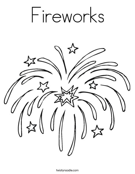 firework coloring pages # 0