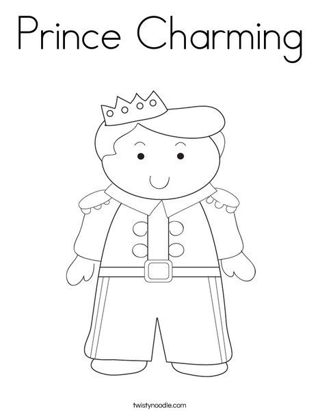 prince coloring pages # 5