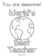 teacher appreciation coloring pages # 8