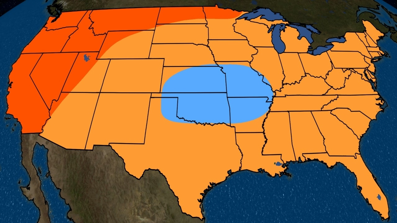 Fall 2018 Temperature Outlook Update  Many Will Have to Wait for     Fall 2018 Temperature Outlook Update  Many Will Have to Wait for Cooler  Weather   The Weather Channel