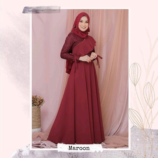 Model Baju Renda Abaya 8