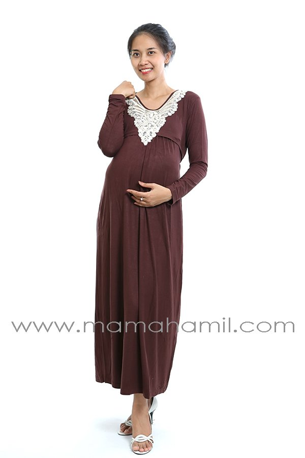 Image Result For Model Gamis Brokat Ibu Menyusui