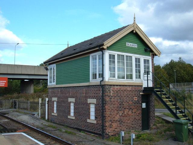 Signal Box Seamer Station 169 Jthomas Cc By Sa 2 0
