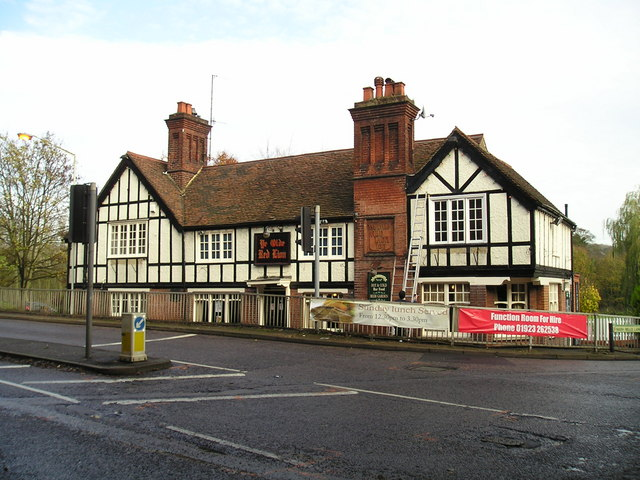 Ye Olde Red Lion Pub, Nash Mills, Hemel ...