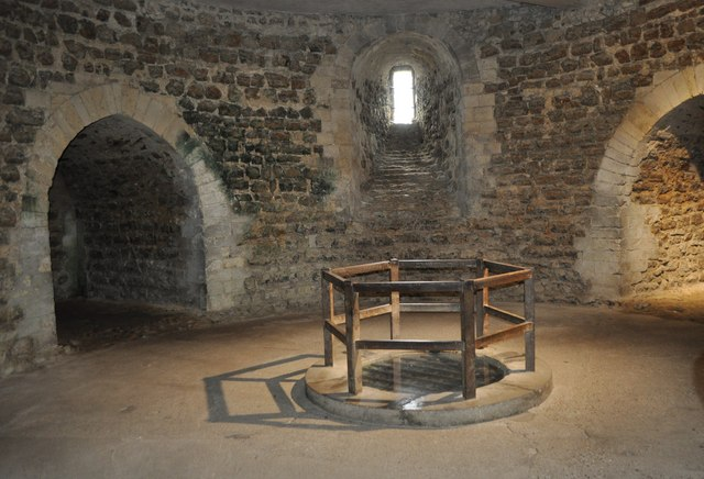 Orford Castle In The Basement 169 Ashley Dace Geograph