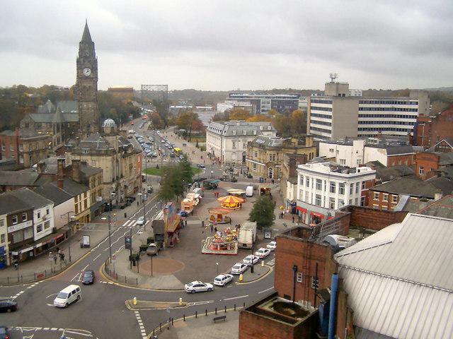 Rochdale Town Centre 169 David Dixon Cc By Sa 2 0