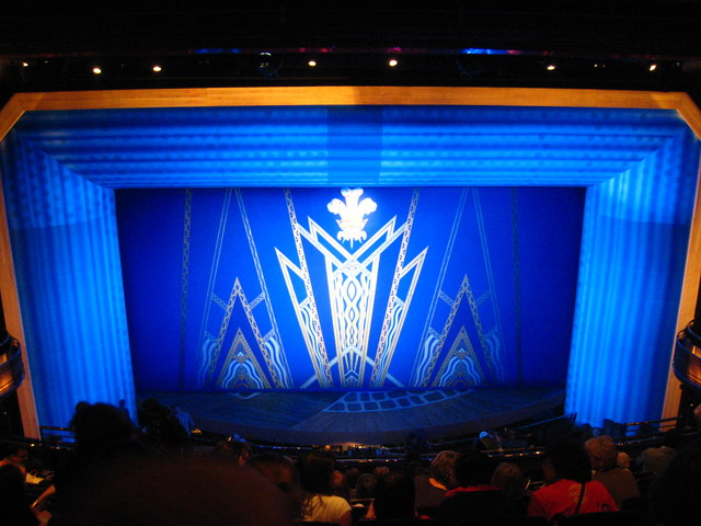 The Stage Of The Prince Of Wales Theatre 169 Rod Allday