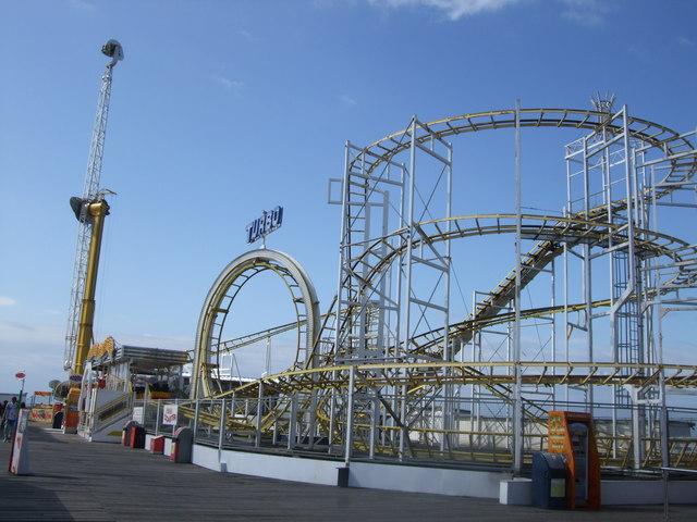 Turbo Roller Coaster Brighton Pier 169 Paul Gillett Cc By