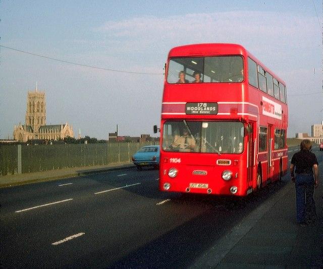 A Doncaster Bus On North Bridge Road 169 David Hillas Cc By